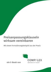 E-Book: Preisanpassungsklauseln wirksam vereinbaren